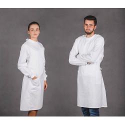 Fartuch Anatomiczny (unisex) ELANOBAWEŁNA...