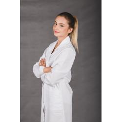 Fartuch medyczny NAPY BAWEŁNA laboratoryjny