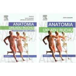 Anatomia układu ruchu podręcznik + zeszyt ćwiczeń