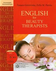 English for Beauty Therapists z płytą CD  Gotowicka Tamara, Patoka Zofia M.-49516