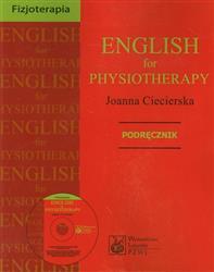 English for physiotherapy Podręcznik z płytą CD  Ciecierska Joanna-40834