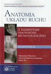 Anatomia układu ruchu Kompendium  Wisłowska Małgorzata, Żuk Beata, Księżopolska-Orłowska Krystyna-54910