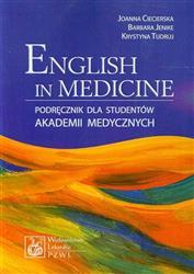 English in Medicine Podręcznik dla studentów akademii medycznych  Ciecierska Joanna, Jenike Barbara, Tudruj Krystyna-55898