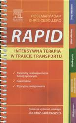 RAPID Intensywna terapia w trakcie transportu  Adam Rosemary, Cebollero Chris-77635
