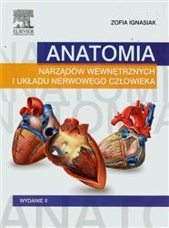 Anatomia narządów wewnętrznych i układu nerwowego człowieka  Ignasiak Zofia-77649