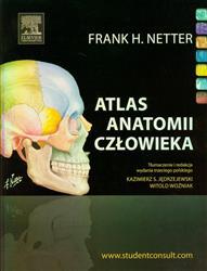 Atlas anatomii człowieka Łacińskie Mianownictwo Anatomiczne Netter Frank H.-77769