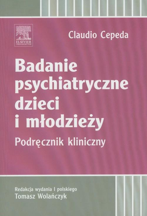 Badanie psychiatryczne dzieci i młodzieży  Cepeda Claudio-77852