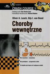 Crash Course Choroby wewnętrzne  Leach Oliver A., Boxel van Gijs I.-110084
