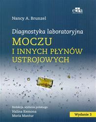 Diagnostyka laboratoryjna moczu i innych płynów ustrojowych  Brunzel Nancy A.-121297