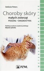 Choroby skóry małych zwierząt  Peters Stefanie-126443