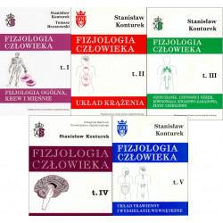 Fizjologia człowieka Konturek Tomy 1-5