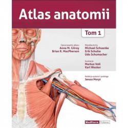 ATLAS ANATOMII - GILROY TOM 1, WYDANIE II