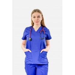 Bluza Medyczna Damska Klasyczna - 7 kolorów