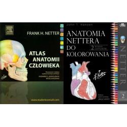 Atlas Nettera Łaciński + Kolorowanka
